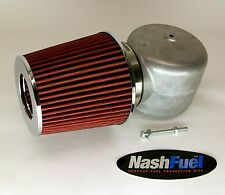 """IMPCO ADAPTER AIR FILTER CLEANER CT425M PROPANE MIXER KN 425 SNORKEL LPG 4"""" HORN"""