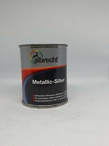 albrecht Metallic-Silber 125ml (flugrost)