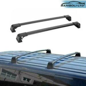 FIX POINT Black Roof Rack Cross Bar for Mazda MPV 2006-2016
