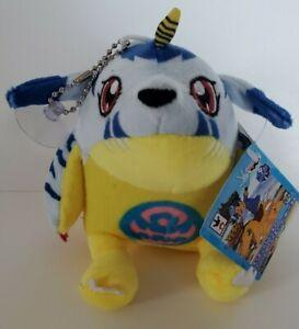 "DIGIMON Adventure GABUMON Chain Plush Doll 5"" BANPRESTO Japan New NWT"