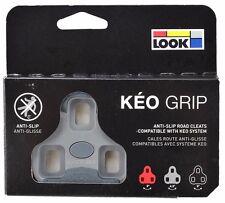 LOOK KEO GRIP Road Pedal Cleats 4.5° Grey Fits Classic, 2 Max Blade & BL. Carbon
