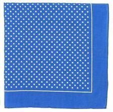 Pañuelos de bolsillo de hombre en color principal azul