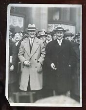 Vintage The Sporting News Ty Cobb 6 1/2 X 8 1/2 Wire Photo