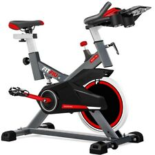 Velo spinning reglabe FITFIU indoor roue d'inertie 16kg frequence cardiaque LCD
