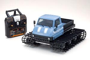34903T2 1/12 Belt Vehicle Readyset Trail King Blue Blizzard