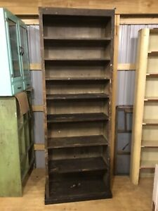 Wooden Shelving Unit from Automotive Shop - Tons of Storage