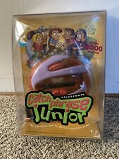 CATCH PHRASE JUNIOR ORANGE HANDHELD ELECTRONIC GAME BY HASBRO 2002 BRAND NEW!!!