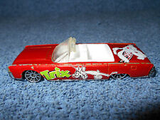 1999 HOT WHEELS TRIX CERIAL RABBIT 1964 LINCOLN CONTINENTAL 1:64 DIECAST CAR