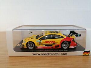 Spark DTM Mercedes C63, #19 D. Coulthard, DHL, DTM 2012, 1:43, OVP, Limited Edit