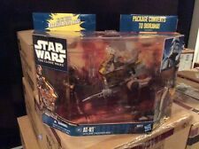 Star Wars The Clone Wars AT-RT with ARF TROOPER BOIL MISB Army Troop Build