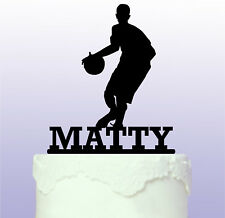 Personalised Basketball Cake Topper