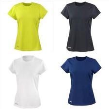 Abbigliamento sportivo da donna leggeri a manica corta