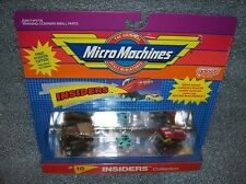 INSIDERS #18    Micro Machines Set - '65 Lincoln / Jaguar XK-E  New/Sealed