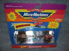 INSIDERS #18    Micro Machines Set - '65 Lincoln / Jaguar XK-E  New/Sealed