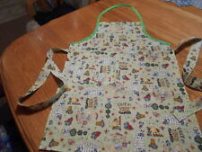 Women's Adult Hand-Crafted Apron for  Kitchen/Art Work/Gardening~Mary Engelbr
