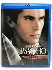 American Psycho 2007 Blu-ray Disc Movie Uncut Version Edition Unrated