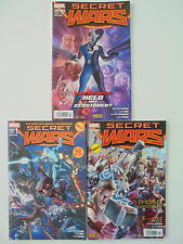 3x Secret Wars-cuaderno nº 1 - 3. (de 9) Panini Comics