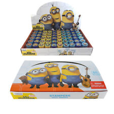 60pc Despicable Me Minions Self Inking Stamp Set Kid School Supplies Party Favor