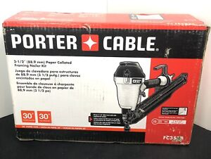 """Porter Cable FC350B 2"""" to 3-1/2"""" Lightweight Tool-Free Paper Tape Framing Nailer"""