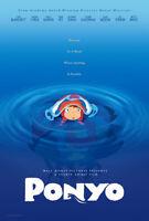 Ponyo Original Filmposter Advance Stil Zweiseitig - Yamaguchi