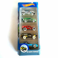 Hot Wheels Cars New Set Of 5 HW Snow Stormers DJD21 By Mattel Hard To Find