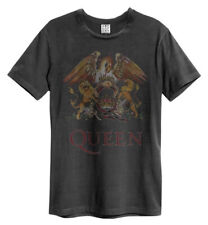 Queen 'Royal Crest' (Charcoal) T-Shirt - Amp   - NEW & OFFICIAL!
