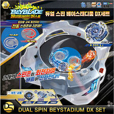 """NEW"" Beyblade BURST B-62 Dual Cyclone BeyStadium DX Set -FreeShip & Track-"
