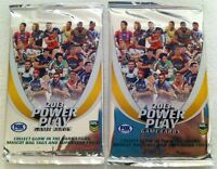 2x Packets NRL Power Play Game Cards 8 Nrl Cards Per Pack New Sealed Packet