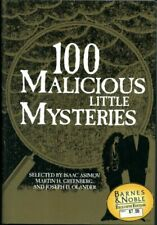 100 Malicious Little Mysteries by Martin H. Greenberg (1992, Hardcover)