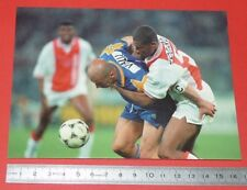 PHOTO L'EQUIPE FOOTBALL FINALE CHAMPIONS LEAGUE 1996 JUVENTUS AJAX VIALLI