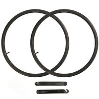 "26"" x1.95/2.125 Bicycle Inner Tubes Schrader Valve for Mountain Bike Tire Pack 2"