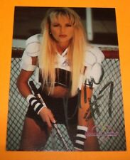 HAND SIGNED AUTOGRAPHED KIM COLLINSWORTH BENCHWARMER PROMO #7 TRADING CARD