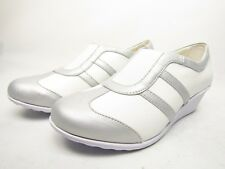 Soft Style  Mallorie Womens Ladies Hush Puppies  White/Silver Size 8.5M