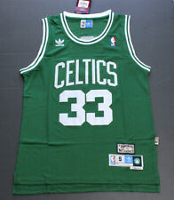Retro Larry Bird #33 Boston Celtics Basketball Jersey Green