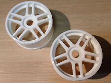 KYOSHO INFERNO GT 1/8TH BUGGY 10 SPOKE WHITE WHEELS, IGH005W