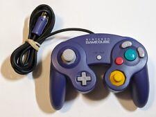 Nintendo Gamecube OEM DOL-003 Official Controller Purple Indigo Tight Joystick