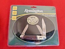 Remington 200th Anniversary Stockman knife new in Tin box