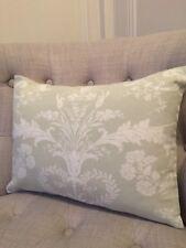 "NEW 12x16""  Laura Ashley cushion cover Josette Pale Hedgerow/Austen off white"