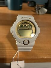 Baby G Shock White and Gold (NEEDS NEW BATTERIES)