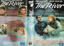 THE RIVER - Gibson & Spacek - VHS - PAL -NEW -Never played! -Original Oz release
