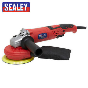 SEALEY DAS151 RANDOM ORBITAL SANDER VARIABLE SPEED DUST FREE 150MM 750W/230V