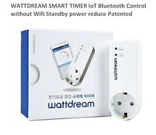 Wattdream SMART Plug Bluetooth Timer ioT Saving Energy & Money Home Automation