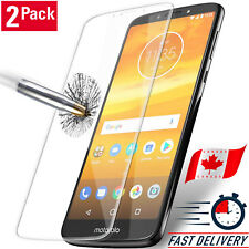 2X Pack Tempered Glass Guard Screen Protection For Motorola Moto E5 / G6 Play