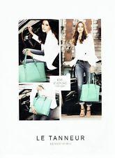Publicité Advertising 067  2013  le sac à main Manon par Le tanneur
