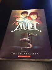 Amulet: The Stonekeeper 1 by Kazu Kibuishi (2008, Paperback)