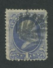 1870 US Stamp #145 1c Used F/VF Waterbury Cancel Catalogue Value