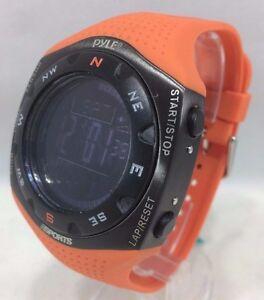 Pyle - PSKIW25O - Ski Master V Pro Ski Watch Weather Altim, Barom Digi Compas