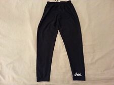 Womens asics Pants S Small Black Athletic