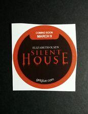 """SILENT HOUSE ELIZABETH OLSEN NAM TITLE MOVIE SMALL 1.5"""" GET GLUE GETGLUE STICKER"""
