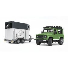 Frère Land rover Defender station chevaux remorque incl. cheval terrain auto 2592